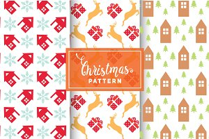 Christmas Vector Patterns #76