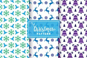 Christmas Vector Patterns #77