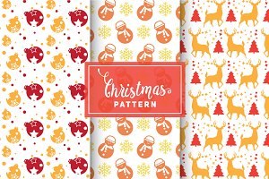 Christmas Vector Patterns #80