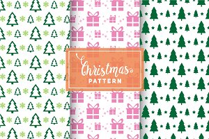 Christmas Vector Patterns #81