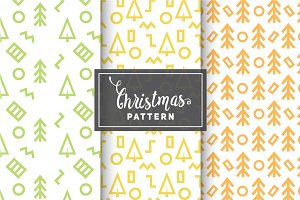 Christmas Vector Patterns #82