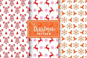 Christmas Vector Patterns #83