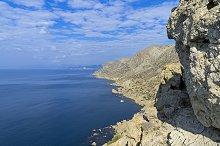 The Black Sea coast. Crimea.