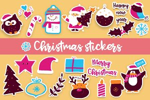 Cute Christmas stickers!