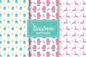 Christmas Vector Patterns #84
