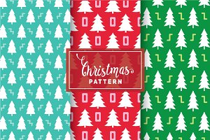 Christmas Vector Patterns #85