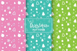 Christmas Vector Patterns #86