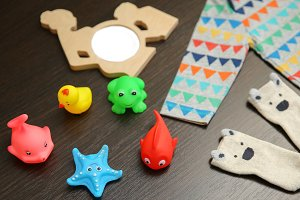 Baby colorful toys,photo frame