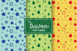 Christmas Vector Patterns #88
