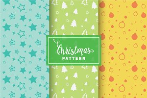 Christmas Vector Patterns #89