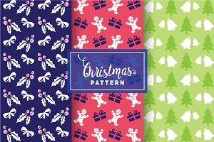 Christmas Vector Patterns #90
