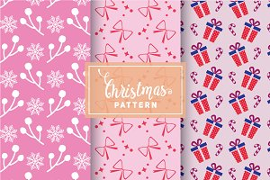 Christmas Vector Patterns #92