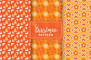 Christmas Vector Patterns #93