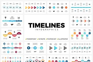 Timelines | 50 unique slides