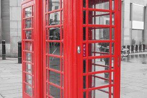 Red telephone box