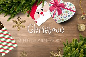 CHRISTMAS illustrations & patterns