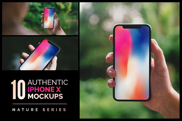 Download 10 Authentic iPhone X Mockups