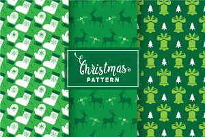 Christmas Vector Patterns #100