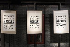 Poster mockup (PSD)