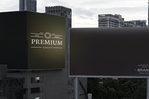 Billboard mockup (PSD)