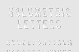 Cutout Alphabet Letters
