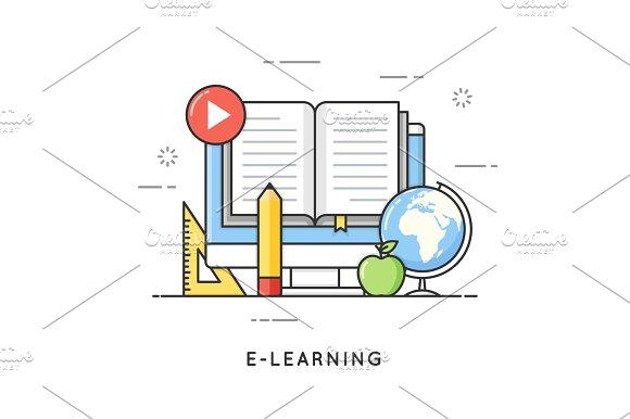 E-learning Online Education Distance Trainings Tutorials Fl