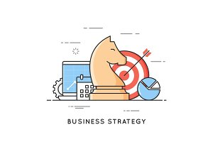 Business strategy, planning, project management, financial analy