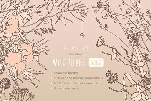 Wild Herbs, vol.2