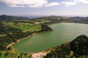 Lake Furnas , Sao Miguel, Azores