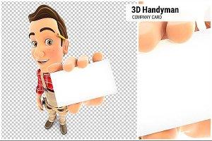 3D Handyman Company Card