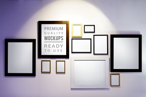 Picture frame mockup (PSD)