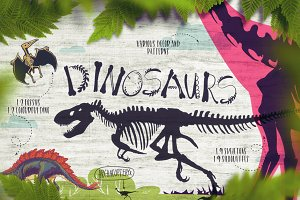 Dino! - From a skeleton to scales.