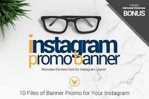 PSD_Instagram Banner Promo