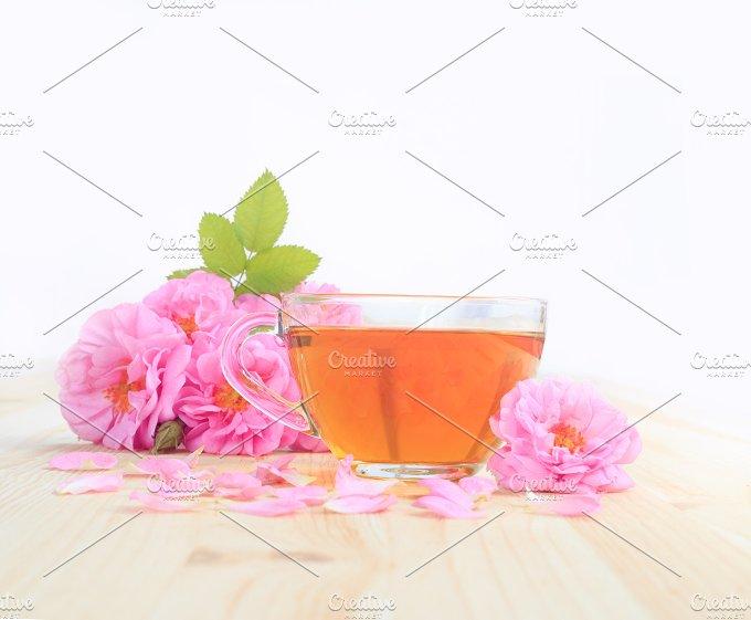 Delicious rose tea. - Food & Drink