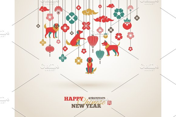 2018 chinese new year border