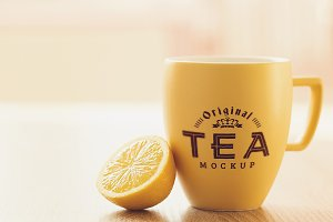 Tea Mug Mock-up #1