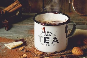 Tea Mug Mock-up #2