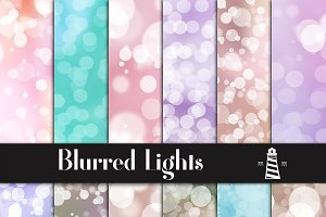 Blurry Bokeh Backgrounds
