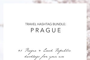 Prague Czech Instagram Hashtags