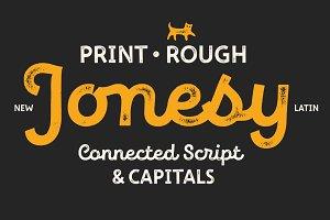 New Jonesy Latin – Font Family