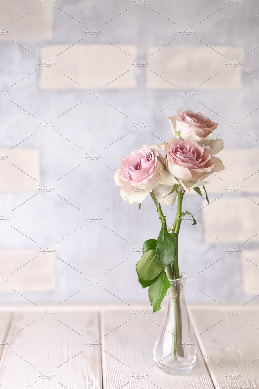 Delicate pink roses in vintage shabby chic delicate pink roses in vintage shabby chic izmirmasajfo