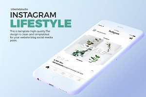 INSTARGAM LIFESTYLE POST TEMPLATE