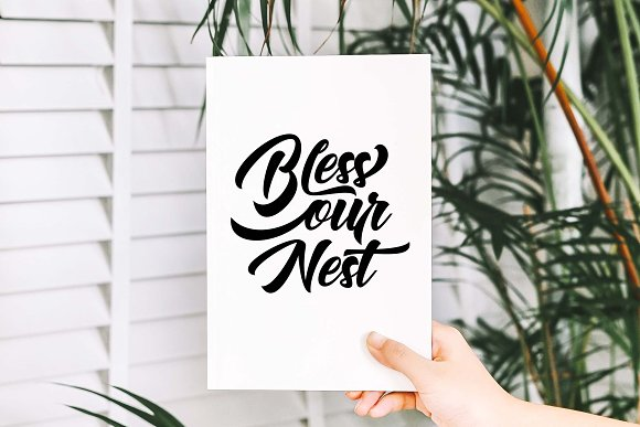 Bless our nest SVG DXF PNG EPS in Illustrations - product preview 2
