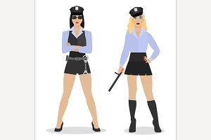 Police Girl Image