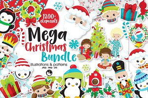 Mega Christmas Bundle, over 1200+