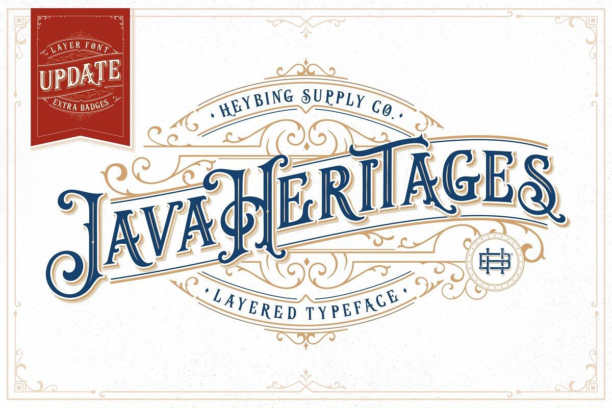 Java Heritages + Extras (UPDATE)