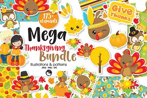 Mega Thanksgiving Bundle, 175+