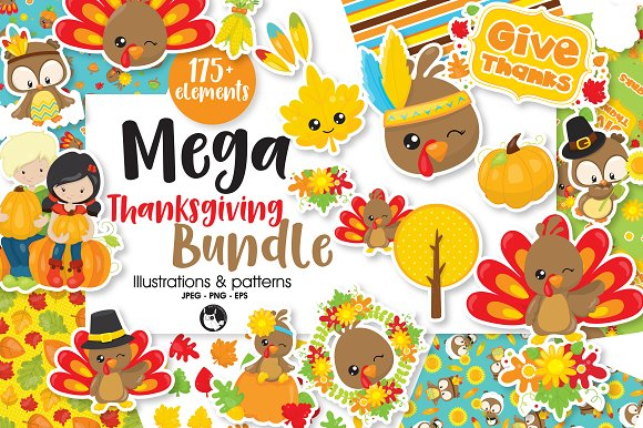 Mega Thanksgiving Bundle 175