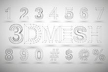 3D Mesh Numbers