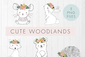 Cute Woodlands